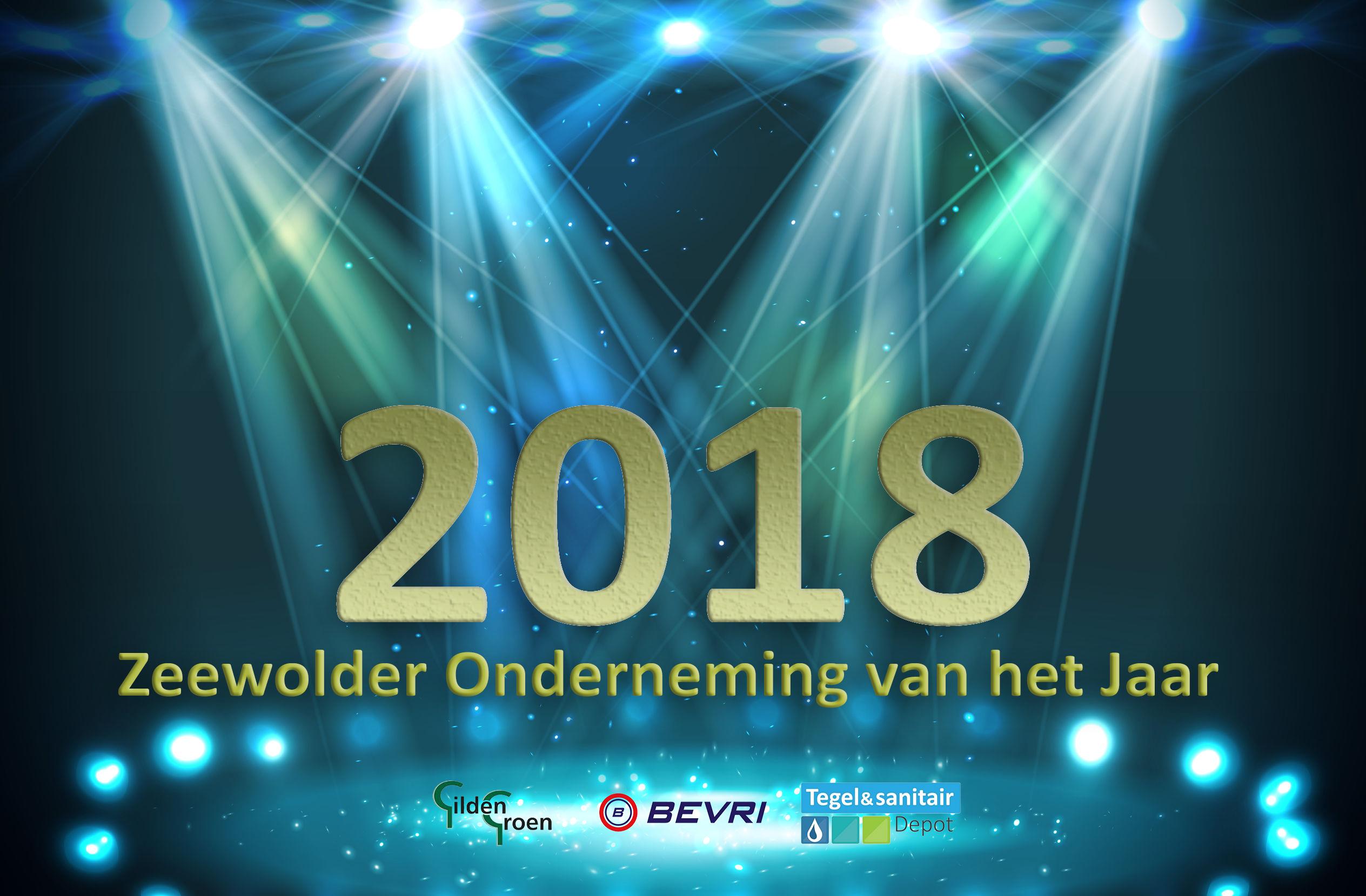 Genomineerden Ondernemer van het Jaar 2018 bekend